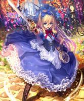 Alice Wonderland Explorer by SpeedWaifuG