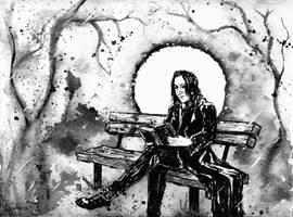 Severus Snape by Lykusio