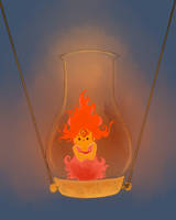 flame princess by dragonette1