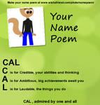 My Name Poem by Callewis2