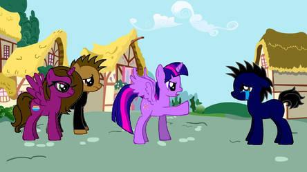 CLSSMMLP:  Twilight raging at Tanner by Callewis2