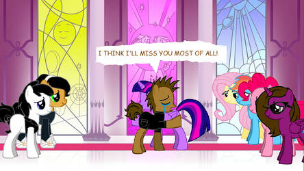 CLSSMMLP: So sad to be leaving Equestria by Callewis2