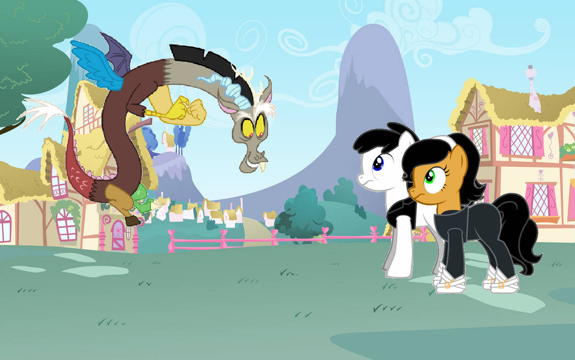CLSSMMLP: Dudley and Kitty meet Discord by Callewis2