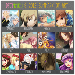 2013 Summary of Art by DejiNyucu