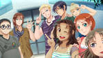 C14 Dating - Title Screen CG by DejiNyucu