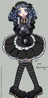 Gothic Lolita by DejiNyucu