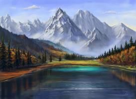 Lake view by Selenada