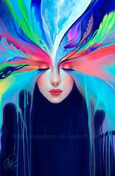 Color Flower by Selenada