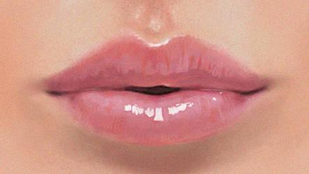 Lips study by Selenada