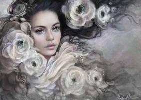 Flower Gentle by Selenada