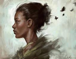 Black Butterfly by Selenada
