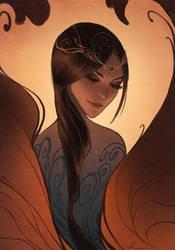 Fire Phoenix by Selenada