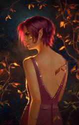 Gold Leaf by Selenada
