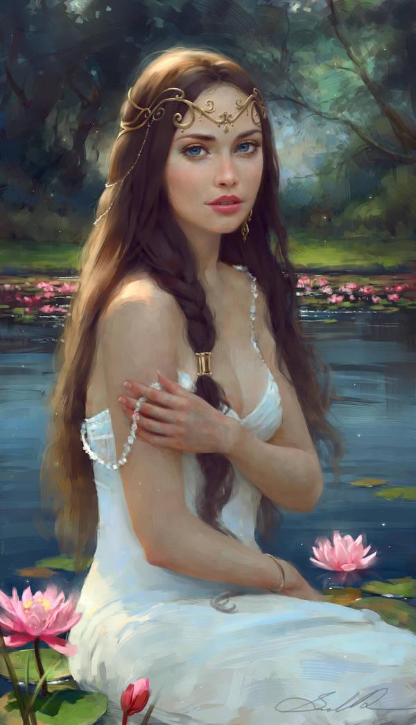 Water Lily Dream by Selenada