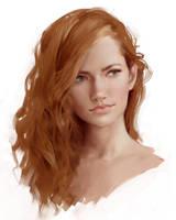 Painting Face (speedpaint video test) by Selenada