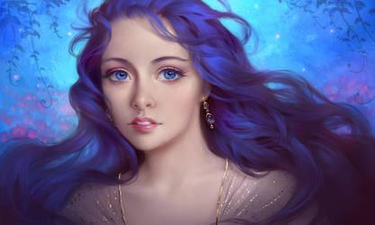 Blue by Selenada