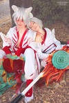 Okami Cosplay - Ammy and Shiranui by Chimeral-CosplayArt