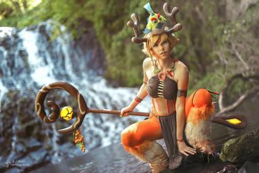 Blossom cosplay - Battlerite 04 by Chimeral-CosplayArt