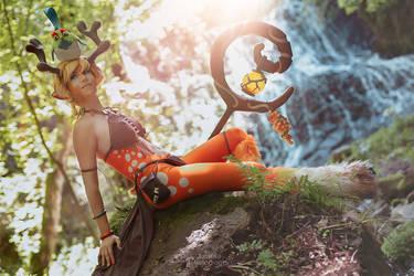 Blossom cosplay - Battlerite 07 by Chimeral-CosplayArt