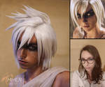 Riven make up test (League of Legends) by Chimeral-CosplayArt