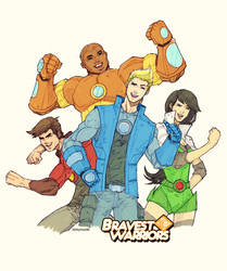 Bravest Warriors by dorkynoodle