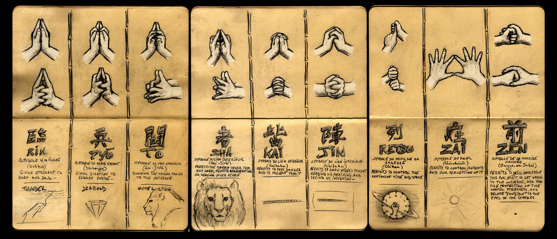 nine hand seals by deviantetienne on deviantart