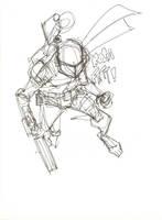 Boba Fett scribble by timmytom