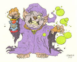 Rat Mage Full Color by timmytom