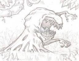 Swamp Beast by timmytom