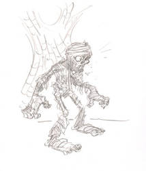Another Mummy Doodle by timmytom