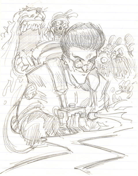 Egon for Harold Ramis by timmytom