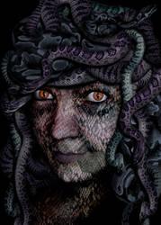 Look into Medusas Eyes by SinScho