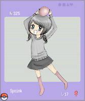 Spoink :D by strawberry-sama74