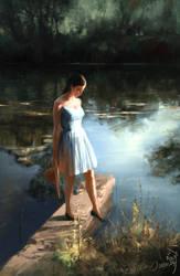 Tranquil Lake by Ryan-Zen
