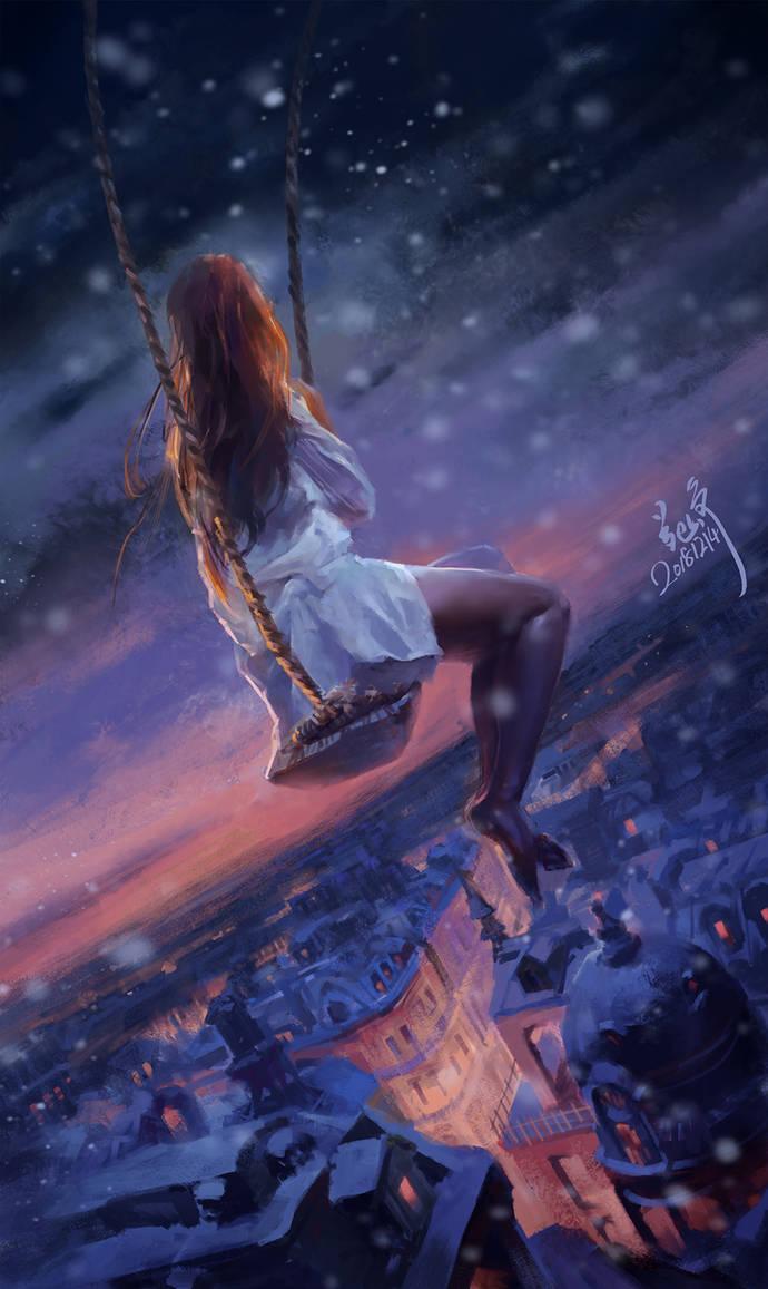Swing dream by Ryan-Zen