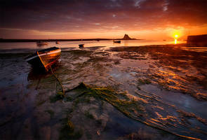 Holy Island Coble by Falcn