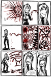 Nightmare: Nin VS Tormentor 8 by ZiBaricon