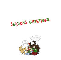 Seasons Greetings by ZiBaricon