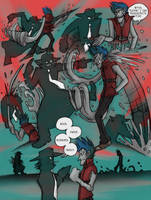 ART TRADE: Cheshire VS Grim by ZiBaricon