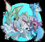 Pokemon Team: Hail by ZiBaricon