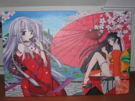 The cherryblossom girls by KasZeroo