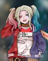 Harley Quinn by anoneki
