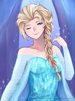 Elsa by anoneki