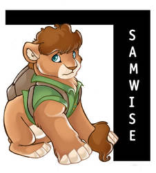 Samwise Lion Crossover by winterfalcon