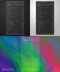 Smoothie skin for Foobar2000 (concept) by vm27