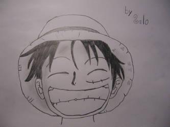 Luffy by salocata