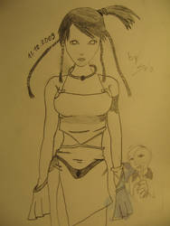 Girl by salocata