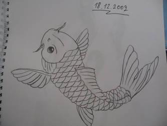 Koi Fish by salocata