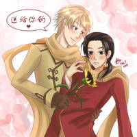 For You - RussiaxChina Hetalia by ShaoranKun