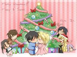 Merry Xmas Mary + Sarah -KKM by ShaoranKun